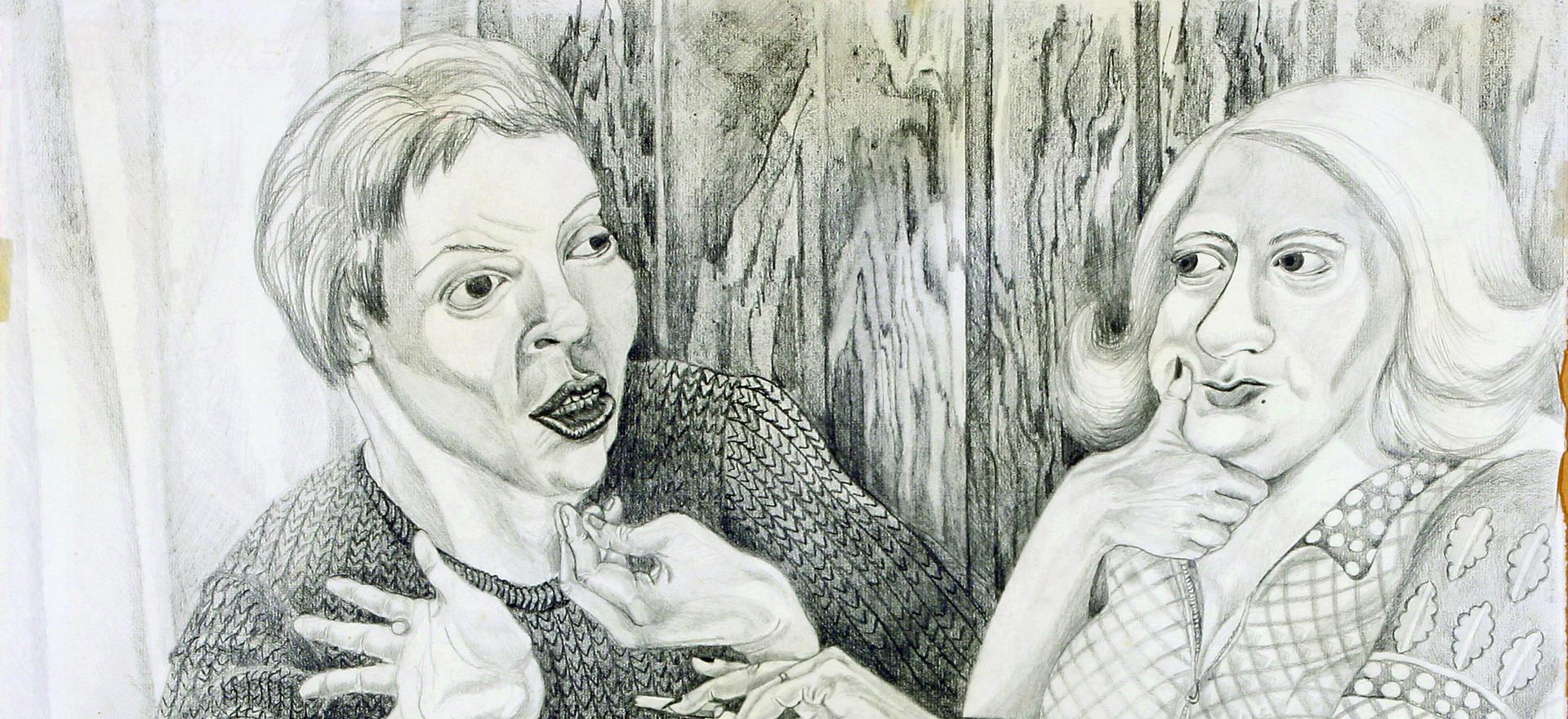 LA FEMINISTA Y LA SEÑORA.