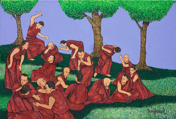 Tibetan Monks Debating