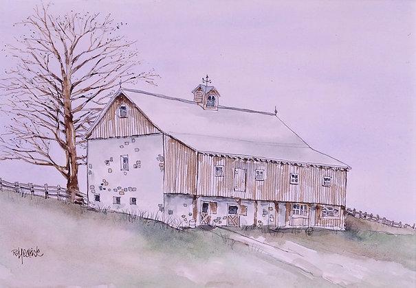 Stone & Oak Barn
