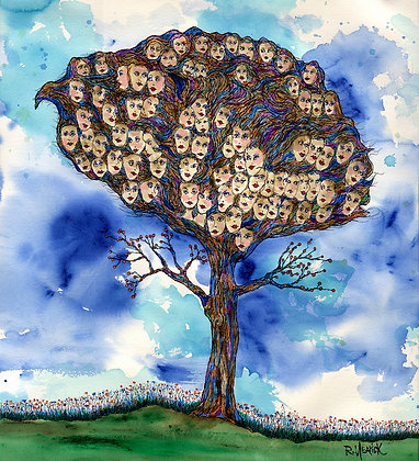 Tree of Faces