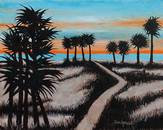 Palms and Sand Dunes