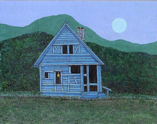 Fireflies At Blue Cabin