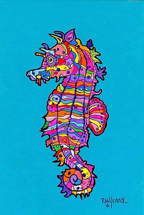 Brilliant Seahorse