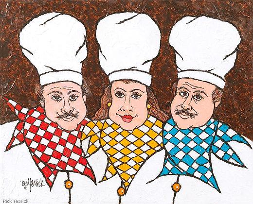 Lorenzo, Marabella & Tony