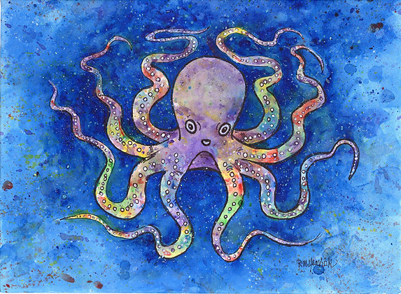 Exuberant Octopus