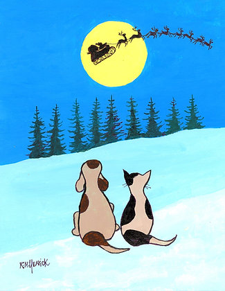 Here Comes Santa Paws Here Comes Santa Claws