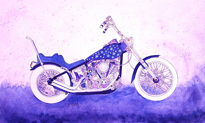 Starry Night Bike