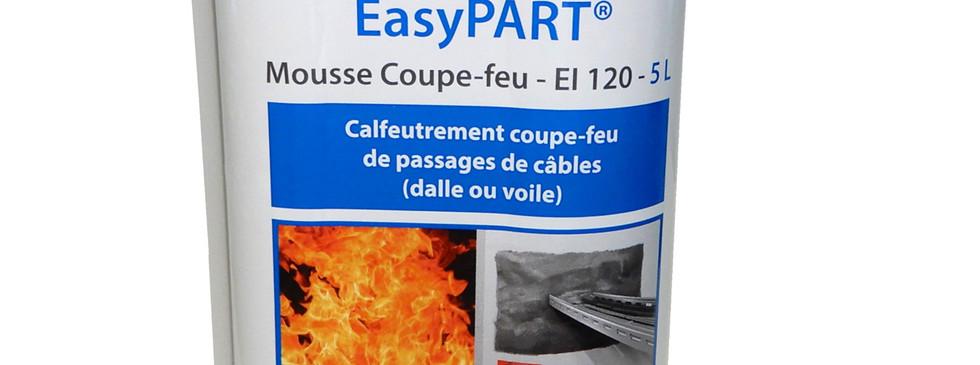 Intumescent fire-resistant foam EI 120 EasyPART