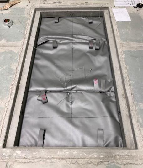 MatPART fire protection mattress M0 N3 HCM 120 EI 240