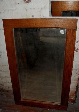 22in X 35in Oak Mirror