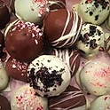 Peppermint Cookie Truffle