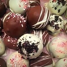 Peppermint Cookie Truffle