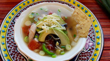 Warm your belly, Chicken Tortilla Soup