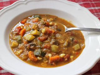 Soup du jour ...  (Sounds fancy. So easy)