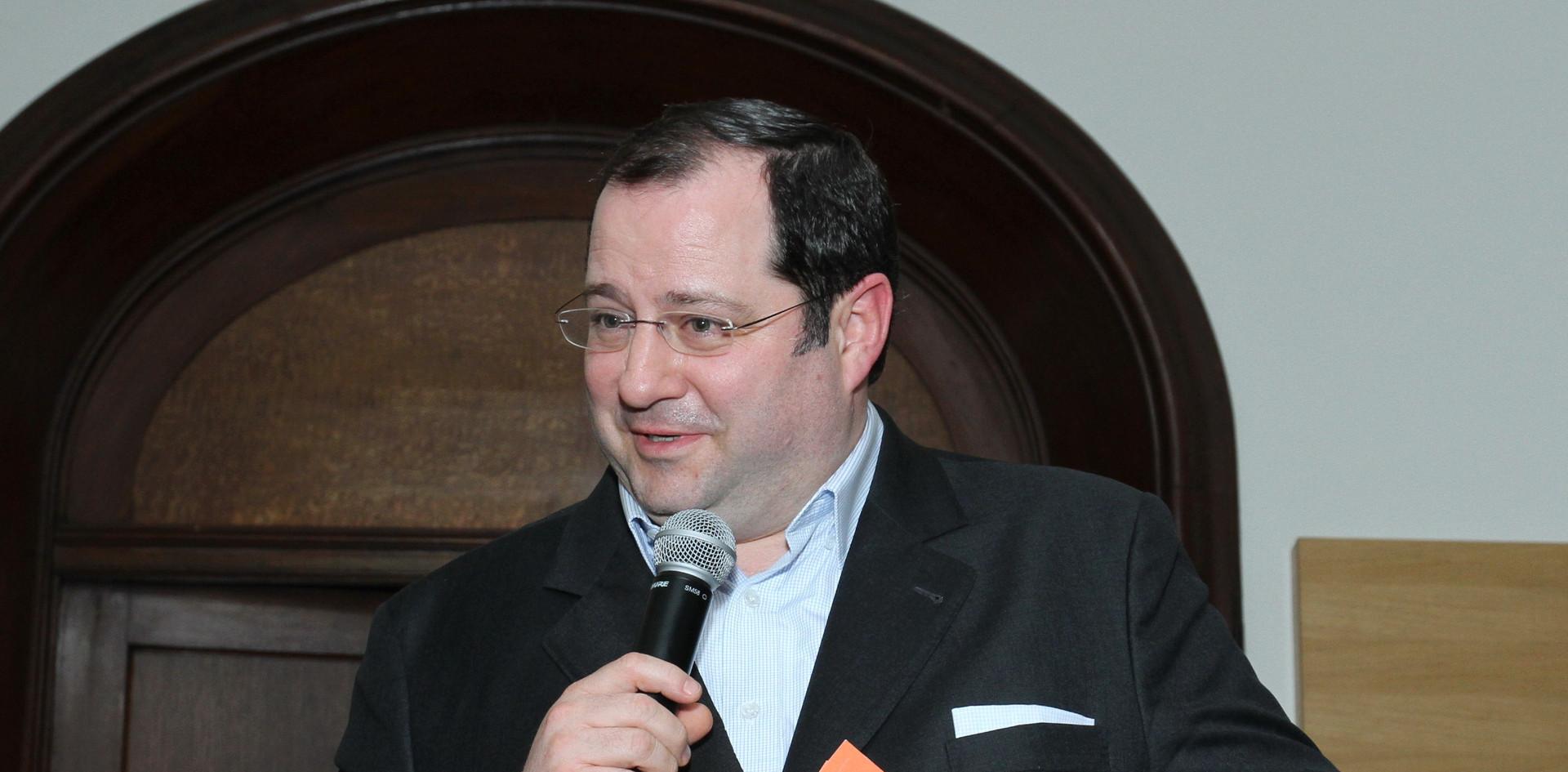 Daniel Riedl verabschiedet sich vom Publikum