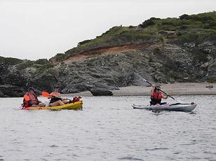 Sortie kayak au Embiez