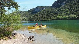 Kayak naturiste