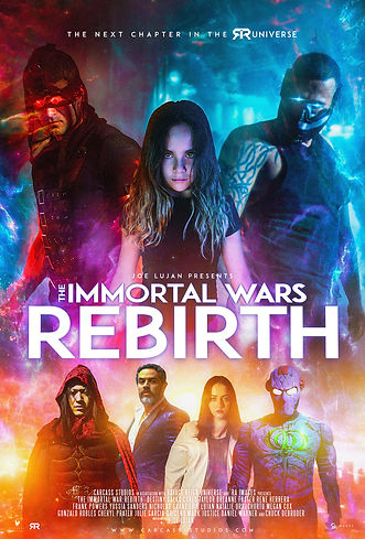 The Immortal Wars Rebirth Official Poste
