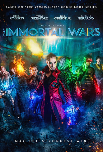 The Immortal Wars Poster Version 2020 UP