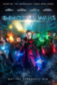 The Immortal Wars Poster Version 2 2018.