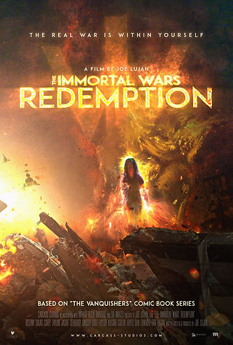 The Immortal Wars Redemption Poster 2 co