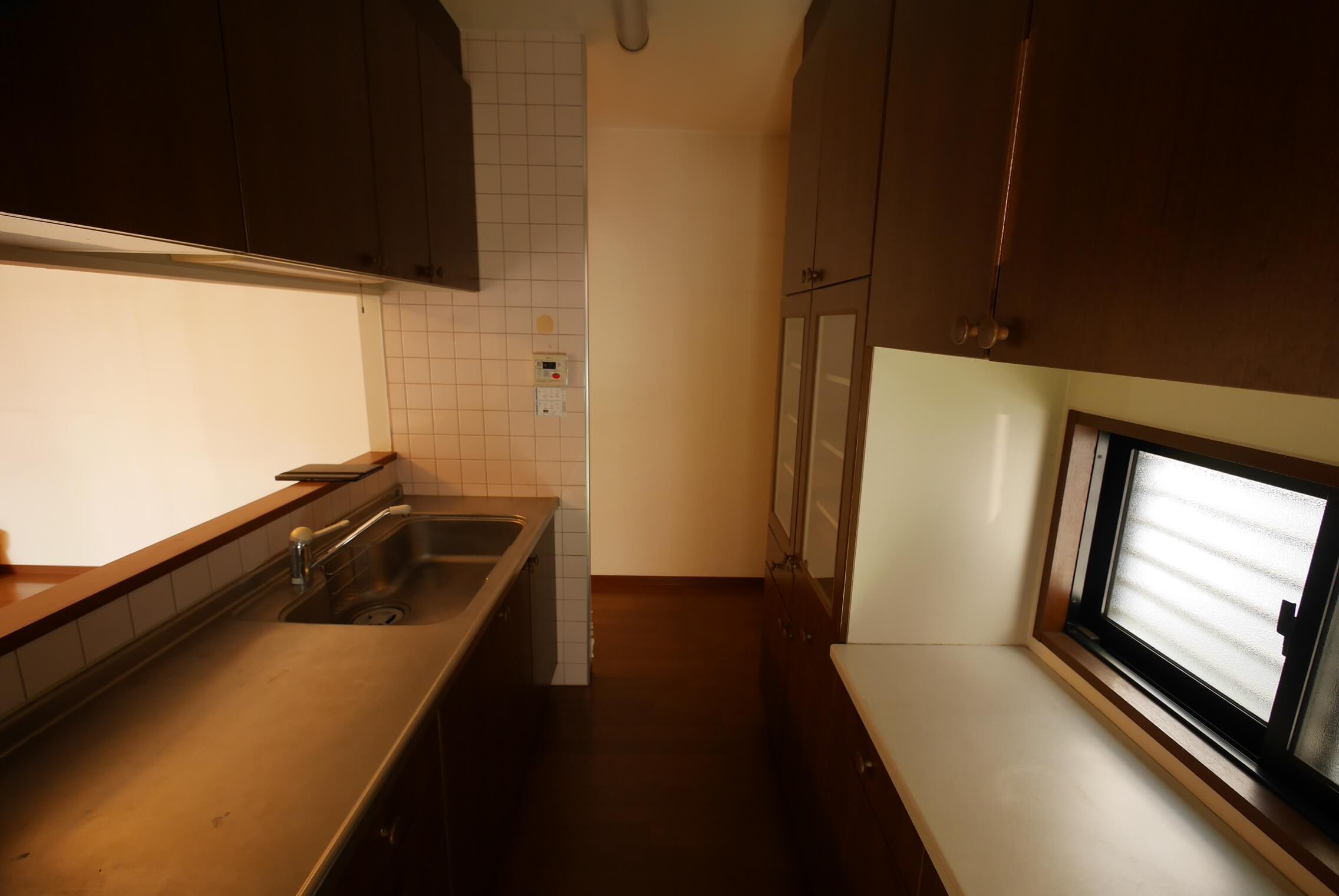 改装前/キッチン
