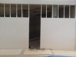 改修工事/石膏ボード貼り・出入口開口