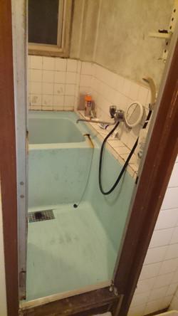 改修工事前/浴槽