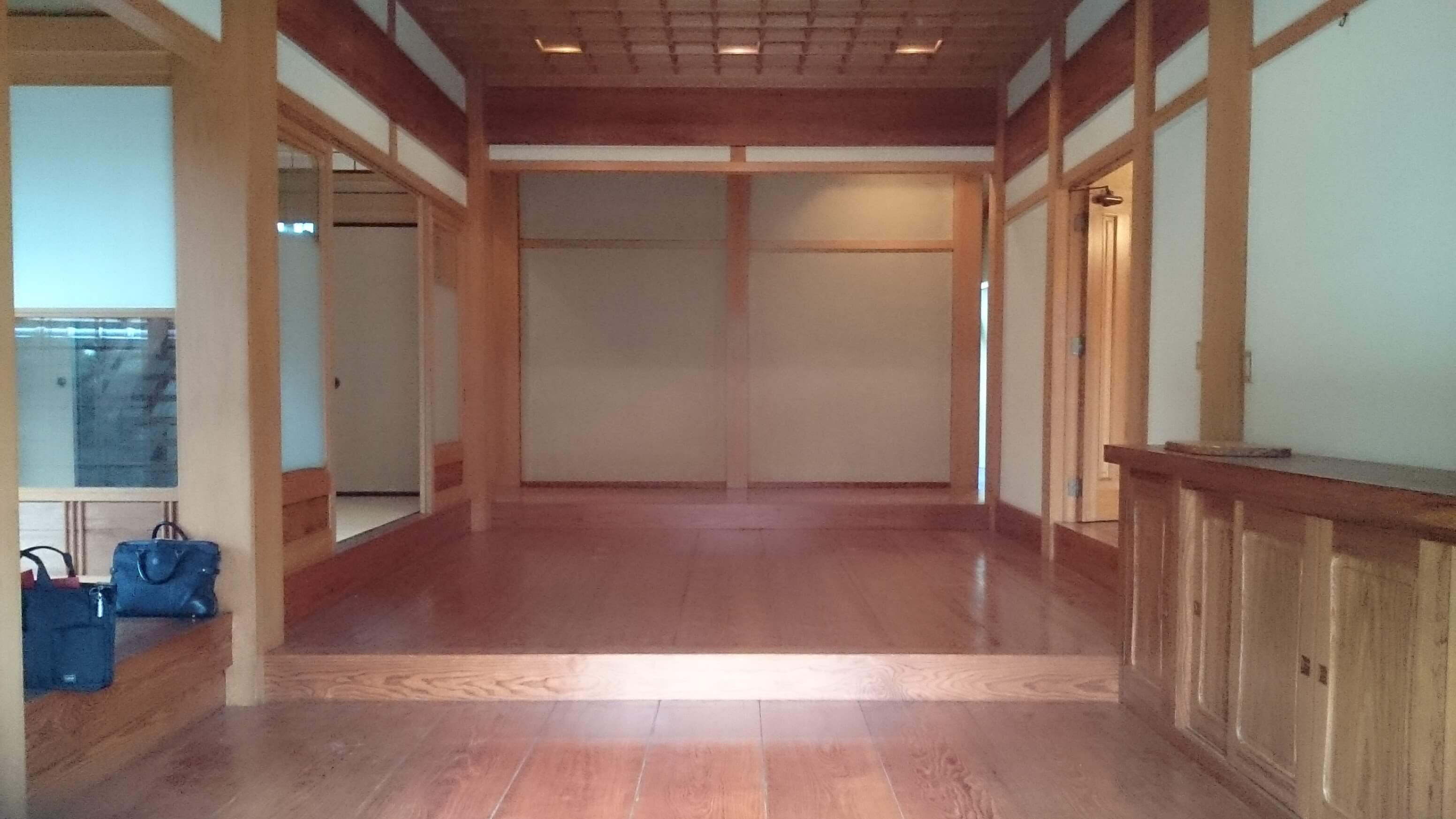 改装工事/玄関ホール