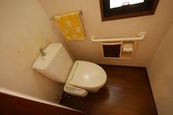 改装前/トイレ
