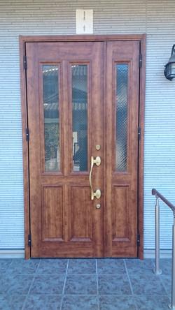 内装工事前/玄関ドア