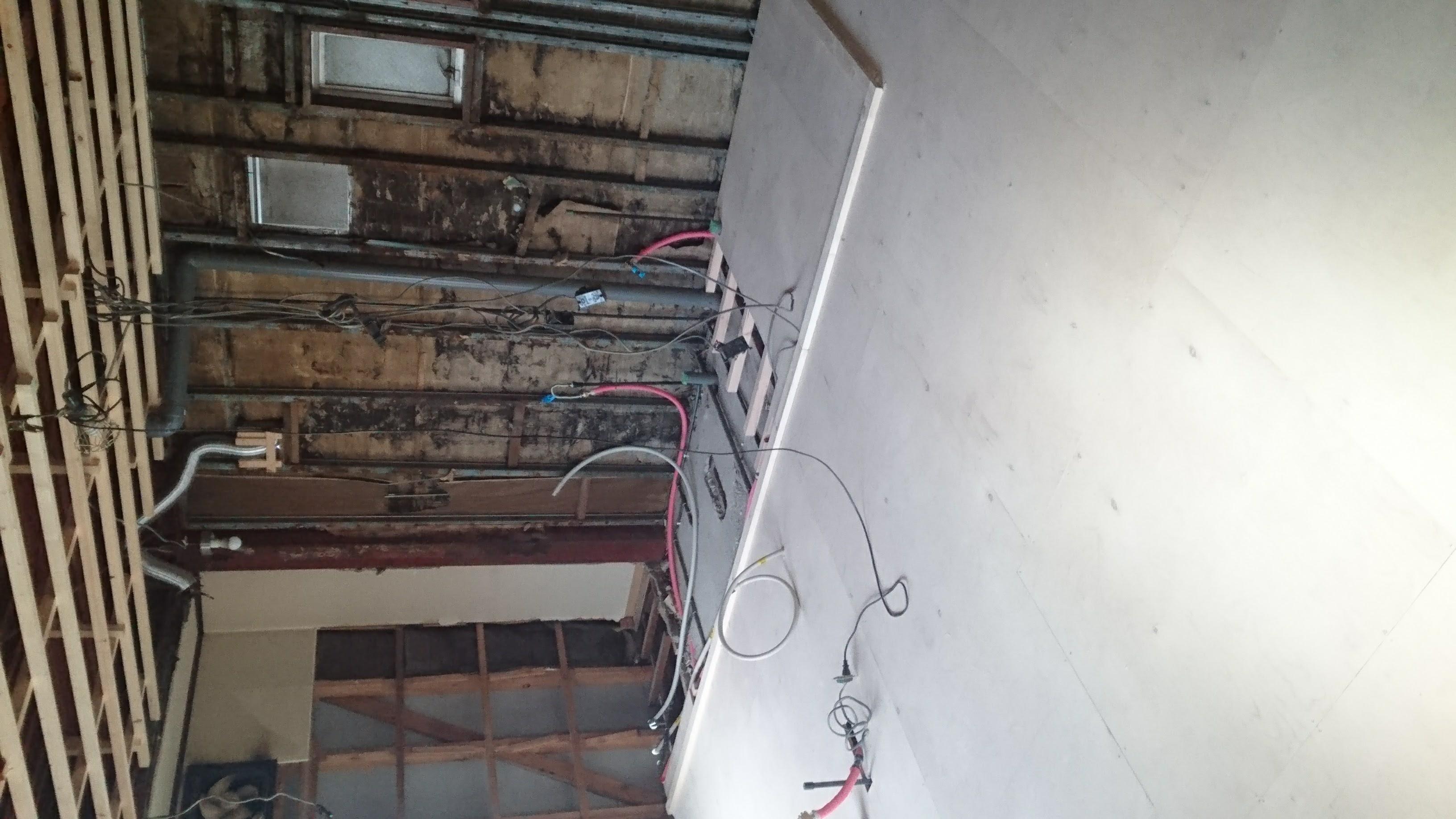 改装工事中/浴室・洗面所