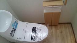 改装後/トイレ・収納