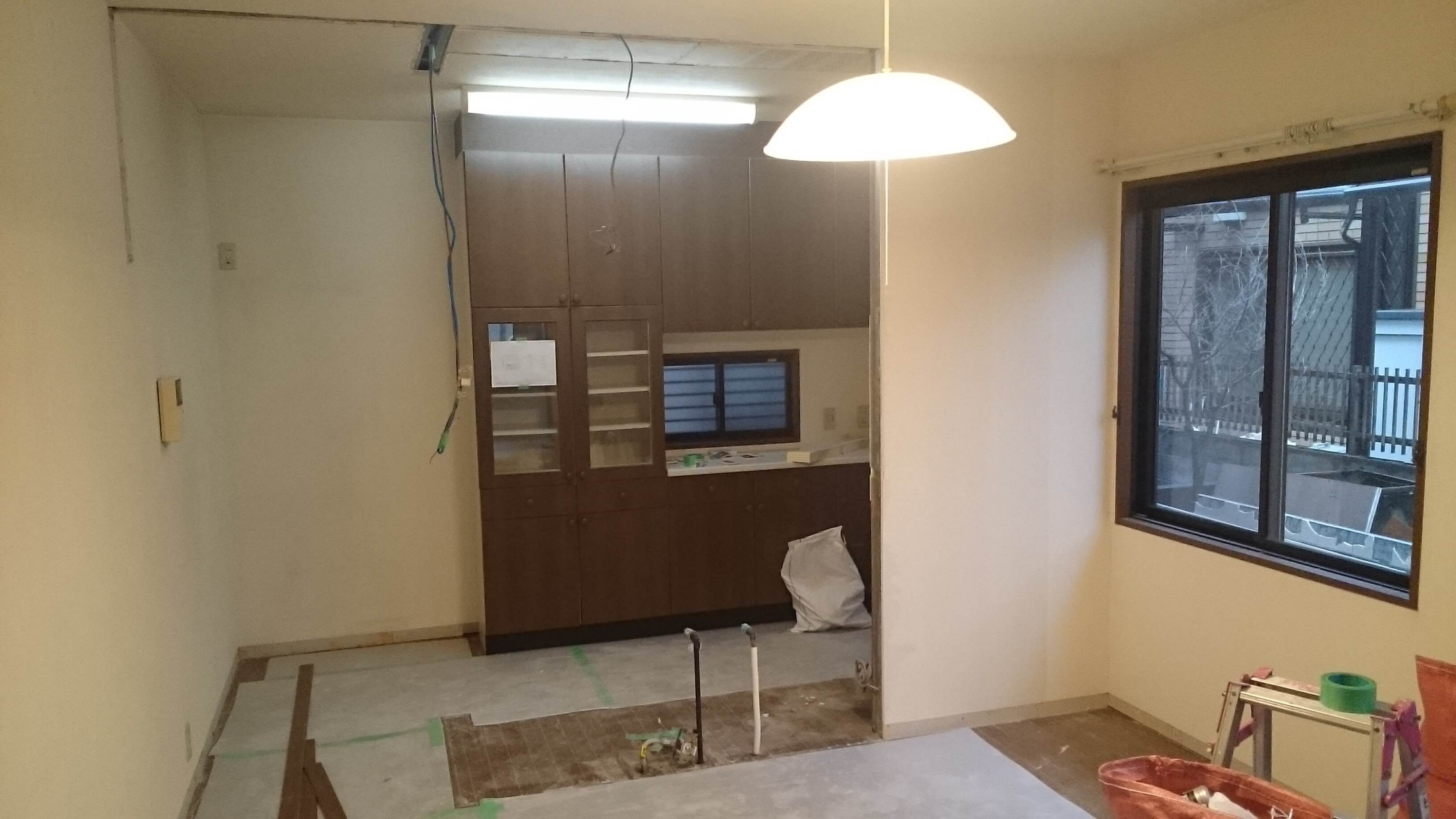 解体/リビング・キッチン