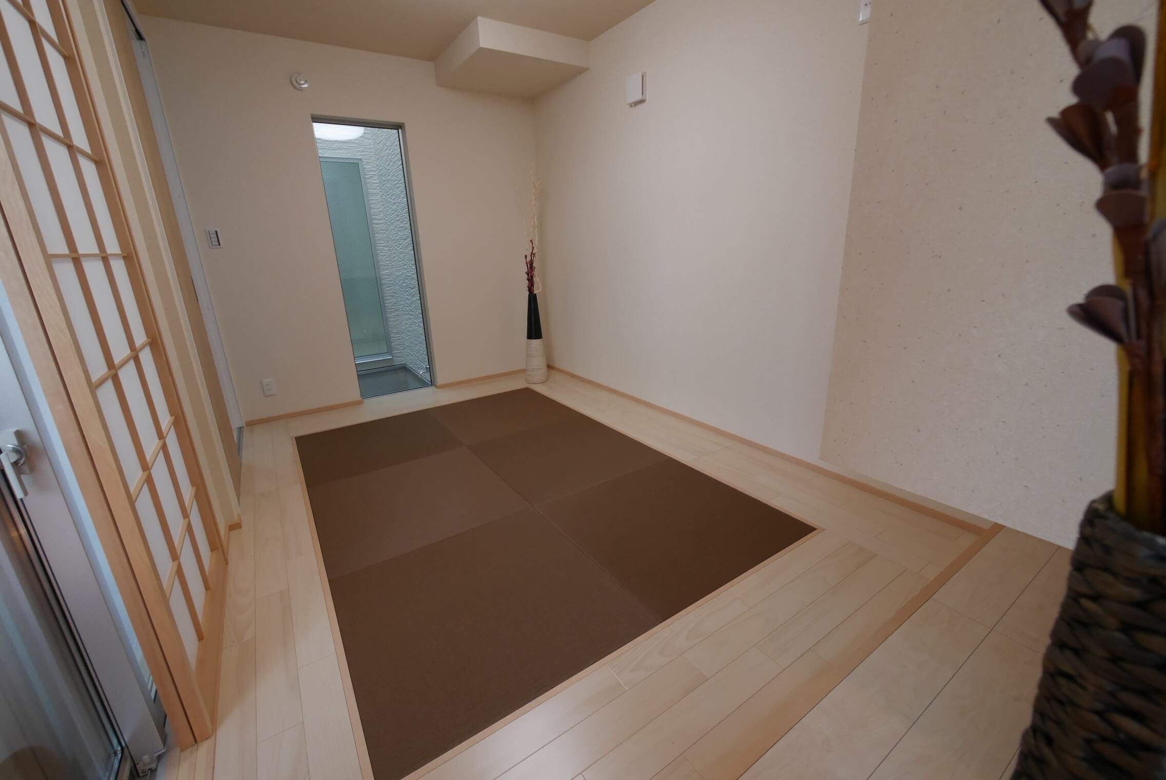 新築戸建和室工事