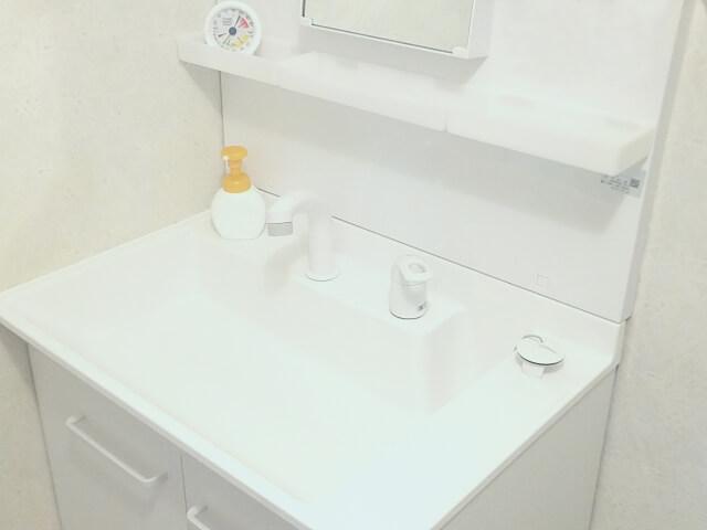 洗面入替/改修工事:施工後