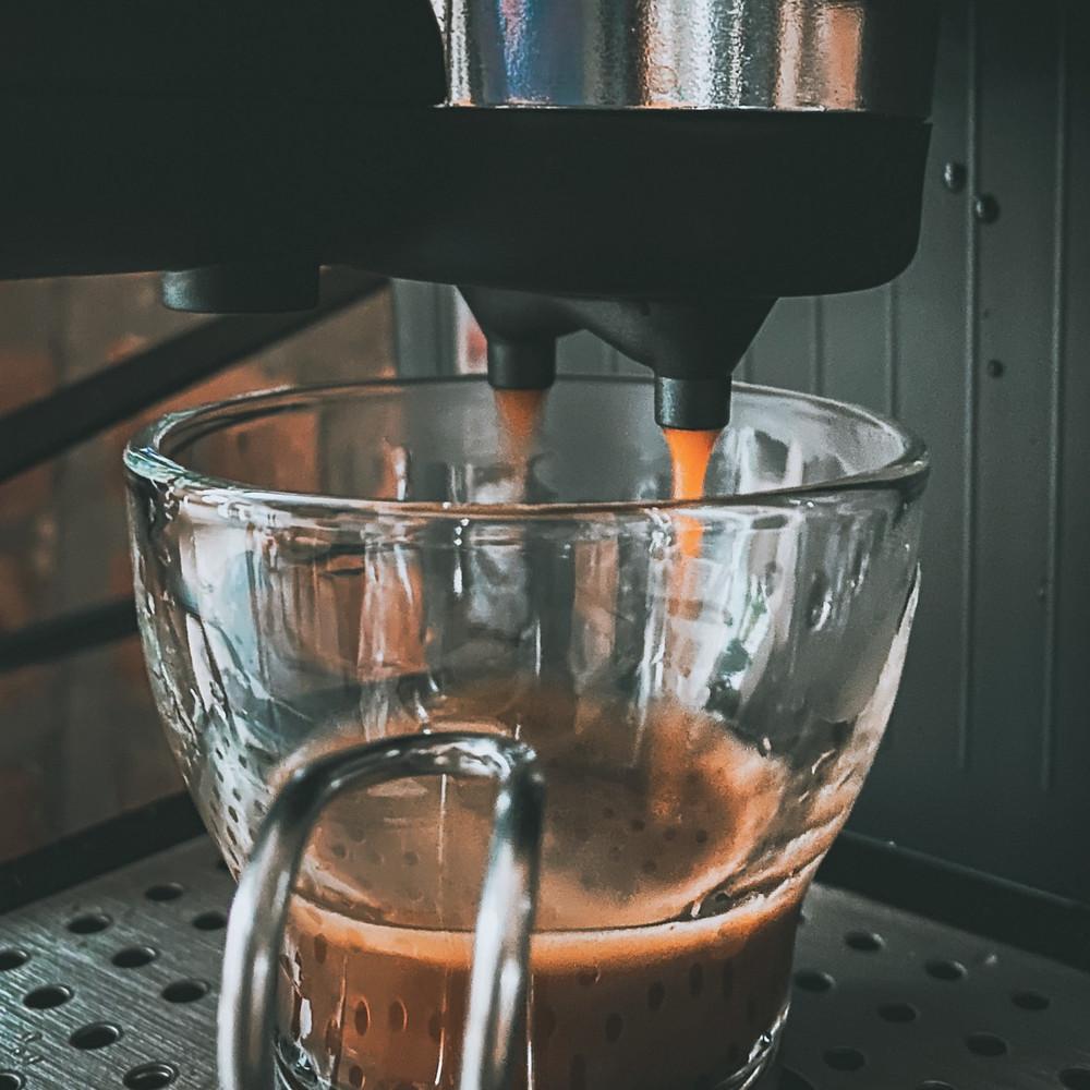 Espresso I made at home