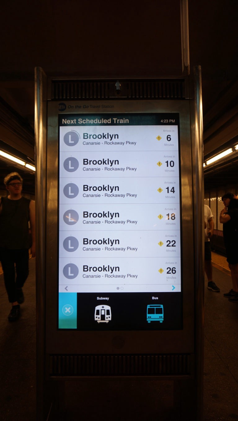 NYC Interactive Train Schedule