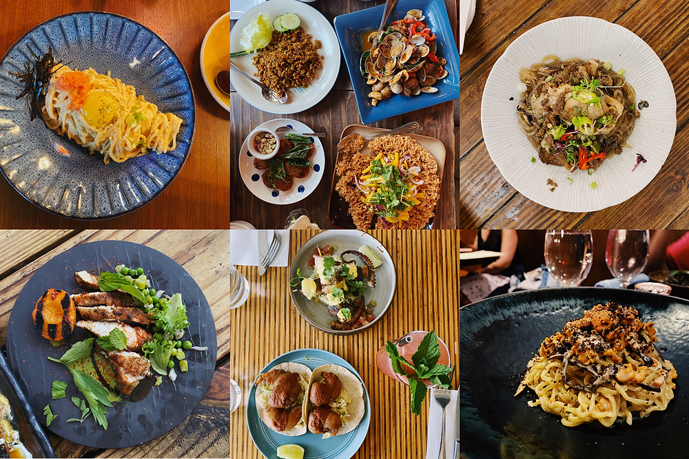 A snippet of my food journeys