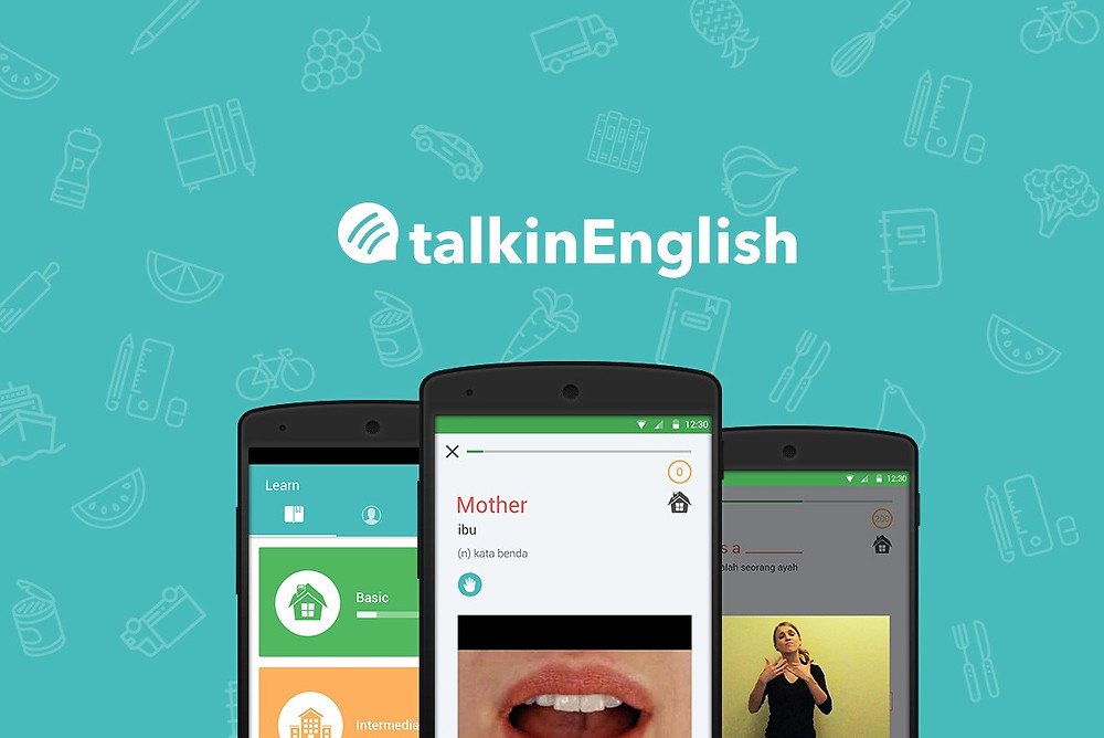 TalkinEnglish app to help students with hearing impairments learn English