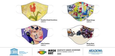 Mask Art- Creativity Under Lockdown