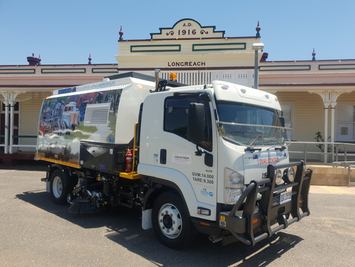 CityRay 5 on Isuzu FSR dual control arrives at Longreach Regional Council