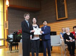 Award Ceremony at BMFA