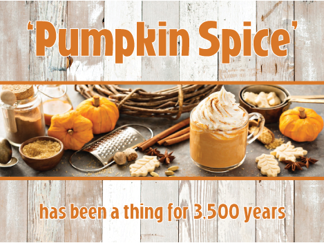 'Pumpkin Spice' Has Been a Thing for 3,500 Years