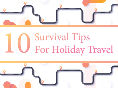 10 Survival Tips For Holiday Travel