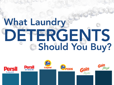 What Laundry Detergents Should You Buy?