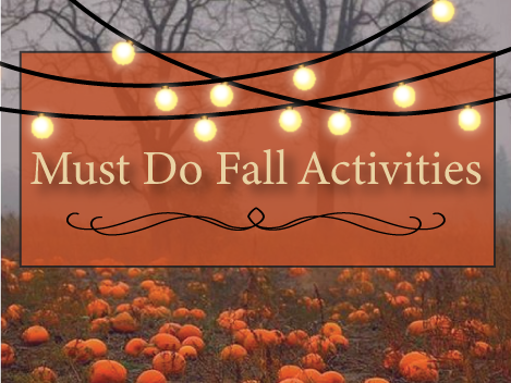 Must Do Fall Activities