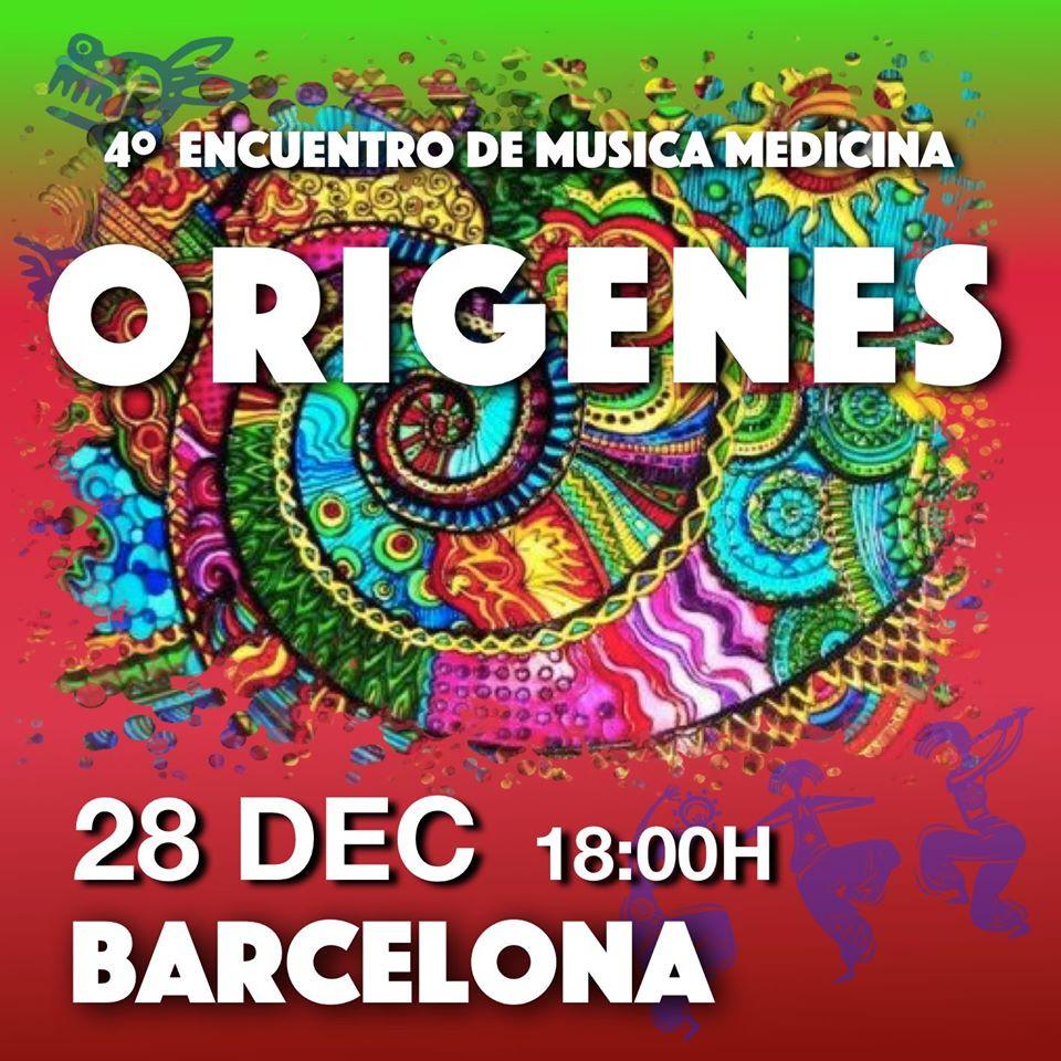 Encuentro De Música Medicina Origenes Barcelona