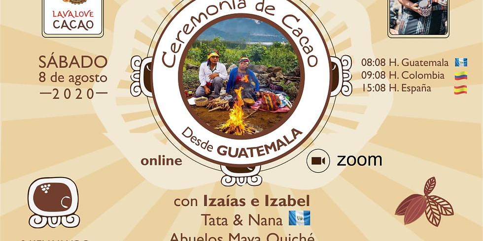 Sagrada Ceremonia De CACAO Online [Desde Guatemala]