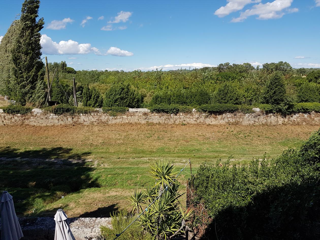 Vue terrasse campagne